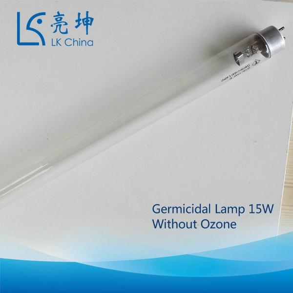 Germicidal Lamp 15W Without Ozone Boric Glass